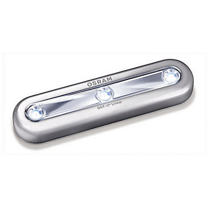 Image for Osram DOT-It Linear Torch - Silver from StoreName