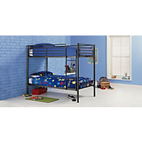 Samuel Shorty Bunk Bed Frame - Black.