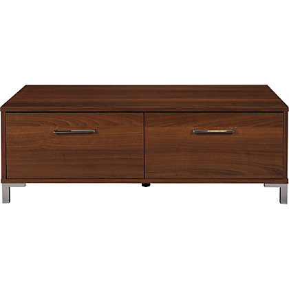 Tables Sideboards Nests Clarice 2 Drawer Coffee Table Walnut
