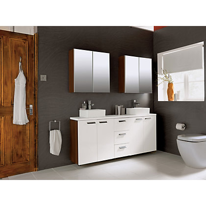 Image for Schreiber Fitted Slimline WC Unit Door - White Gloss from StoreName