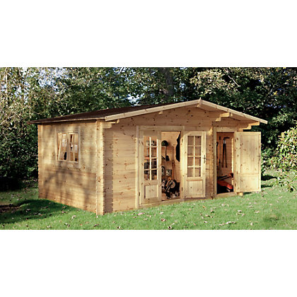 Image for Forest Wrekin Log Cabin - 15ft 7in x 11ft 5in from StoreName