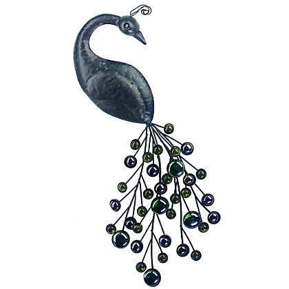Image for Peacock Garden Wall art from StoreName