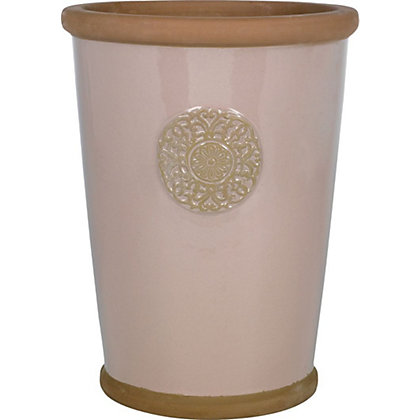 Image for Millicent Motif Dusty Pink Plant Pot - 37cm from StoreName