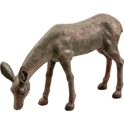 Image for Deer Doe Garden Ornament - Bronze Effect from StoreName