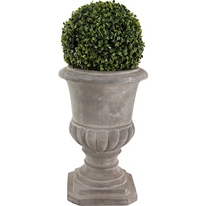 Image for Grey Clay Classic Small Urn from StoreName