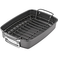 Non Stick Roasting Pan with Rack