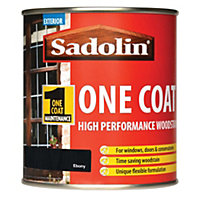 Sadolin Advanced One Coat Woodstain - Ebony - 500ml