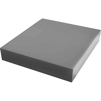 Image for Duraline High Gloss Shelf - Grey - 25 x 25cm from StoreName