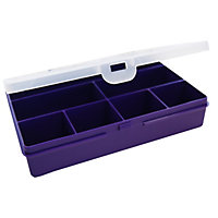 Purple 2.01 Organiser With 7 Dividers