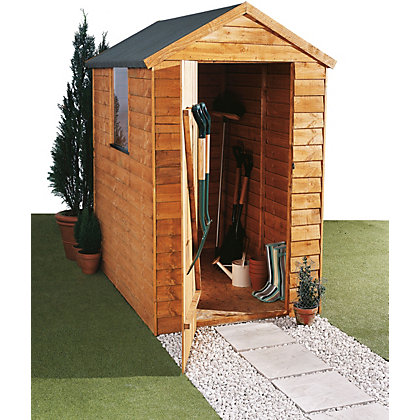 Image for Forest Overlap Wooden Shed - 6ft x 4ft from StoreName