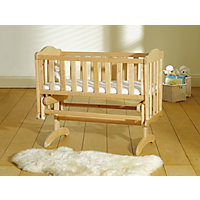 Saplings Glider Crib - Natural.