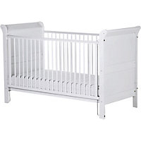 Saplings Victoria Cot Bed - White.