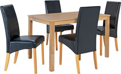 Bromham Oak Dining Table and 6 Black Skirted Chairs : 115350RZ001largeampwid800amphei800 from netdosh.co.uk size 800 x 800 jpeg 42kB