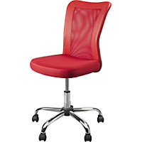 Reade Mesh Office Chair - Red.