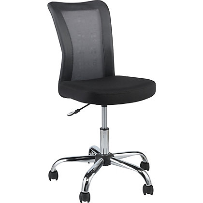 Reade Mesh Office Chair - Black. at Homebase -- Be ...