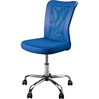 Reade Mesh Office Chair - Blue.