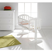 East Coast Vienna Swinging Crib - White.