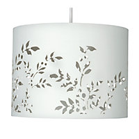 Flower Cut Out Shade - Cream - 30cm