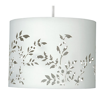 Image for Flower Cut Out Shade - Cream - 30cm from StoreName