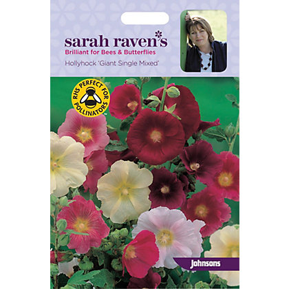 Image for Sarah Ravens - Hollyhock Giant Single Mixed from StoreName