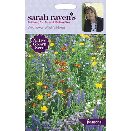 Image for Sarah Ravens Wildflower Wildlife Mixed Seeds from StoreName