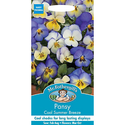 Image for Pansy Cool Summer Breeze Seeds from StoreName