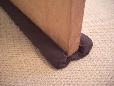 Stormguard Internal Door Draught Excluder - Brown