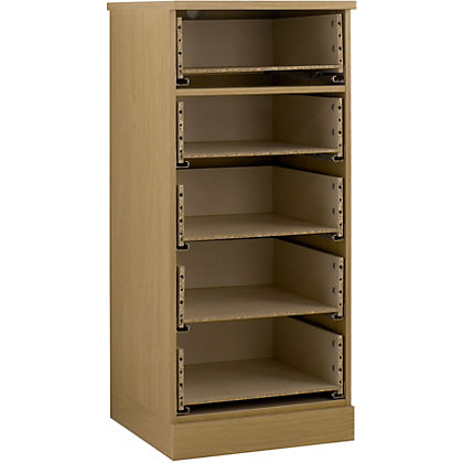Image for Schreiber 5 Drawer Narrow Chest - Oak from StoreName