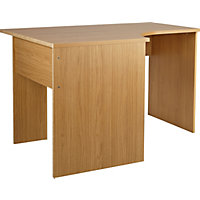 Walton Corner Office Desk - Oak Effect.