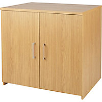 Walton 2 Door Cupboard - Oak Effect.