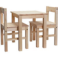 Scandinavia Kids Table and 2 Chairs - Pi