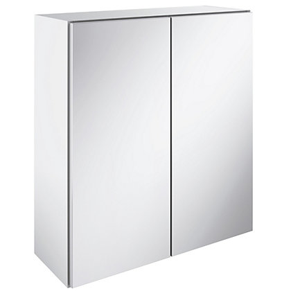 Image for Winchester Double Mirrored Bathroom Cabinet - White from StoreName