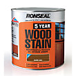 Ronseal 5 Year Woodstain Dark Oak - 2.5L