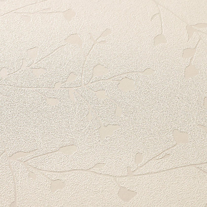 Image for Superfresco Silhouette Wallpaper - White Mica from StoreName