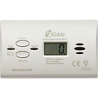 Kidde Sealed-in Carbon Monoxide Alarm and Digital Display