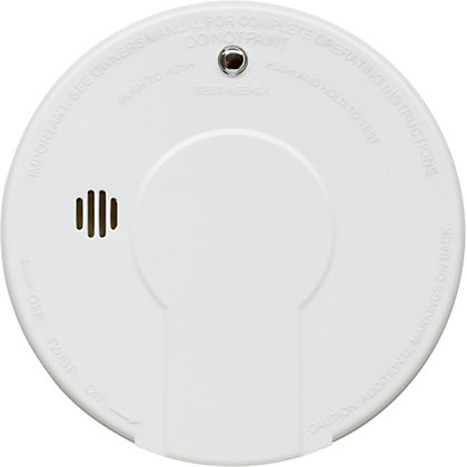 Image for Kidde Smoke Alarm and Hush Button from StoreName