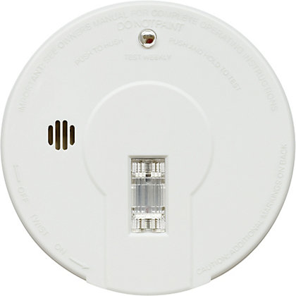Image for Kidde Smoke Alarm with Escape Light and Hush Button from StoreName