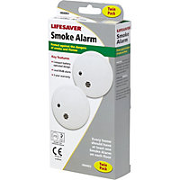 Lifesaver Smoke Alarm - 2 Pack