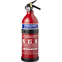 Lifesaver ABC Fire Extinguisher - 1kg
