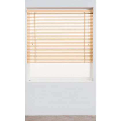 Image for Harrison Drape Natural Wood 35mm Venetian Blind - 120cm from StoreName