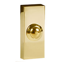 Wired 2204 Bell Push Brass Effect
