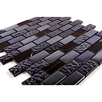 Homelux Mosaic Mixed Media - Anthracite - 1 Pack