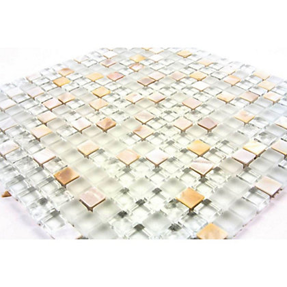Image for Homelux Mosaic Mixed Media - Pearl - 1 Pack from StoreName