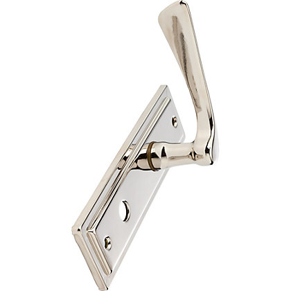 Image for Como Bathroom Lever - Polished Nickel from StoreName