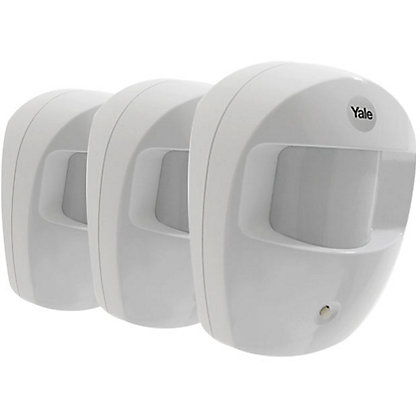 Image for Yale Easy Fit Alarm 3 Pack PIR Detectors from StoreName