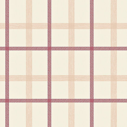 Image for Superfresco Plaid Wallpaper - Russet from StoreName
