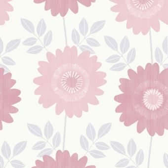 pink washable wallpaper