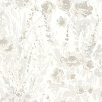 Fresco Monet Wallpaper - Cream