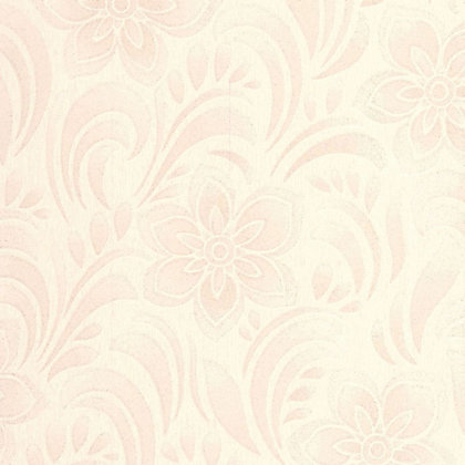 Image for Graham &  Brown Jacquard floral Wallpaper - Cream from StoreName
