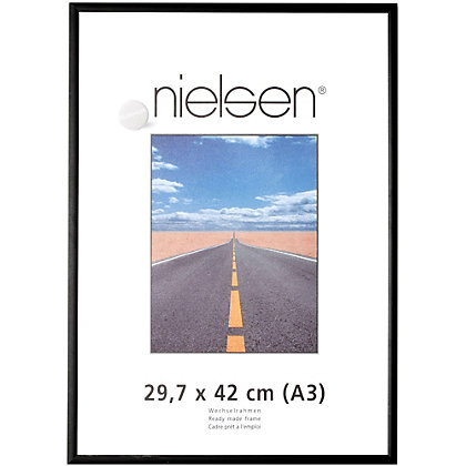 Image for Nielsen Black Photo Frame - A3 from StoreName
